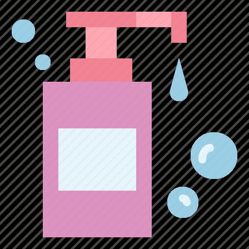 bathing, beauty, shampoo, soap icon