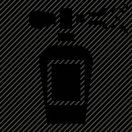 beauty, perfume, spray icon