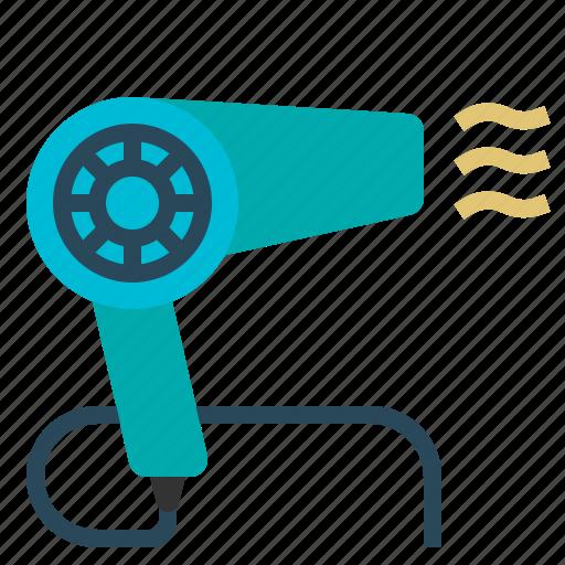 Blow, blower, dryer, hair, salon icon - Download on Iconfinder