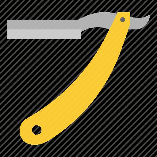equipment, razor, salon, scraper, styling icon