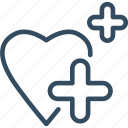 care, health, healthcare, healthy, healthful, heart, salubrious icon