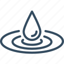 beauty, drop, hydratation, nature, water icon