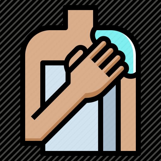 body, care, cream, lotion, skin, spa, towel icon