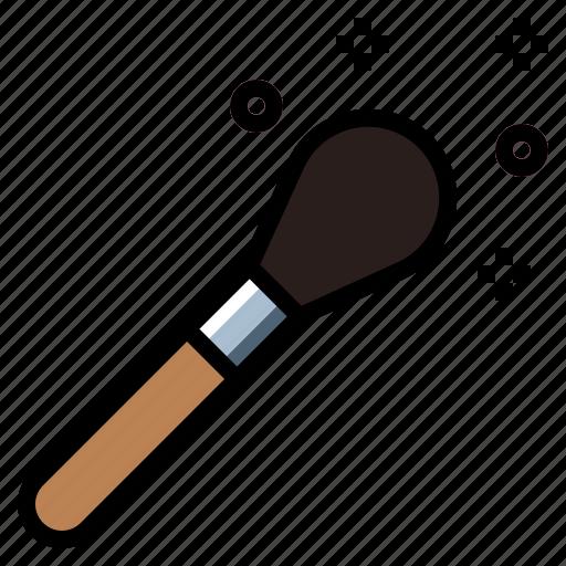 beauty, brush, cosmetics, fashion, makeup icon