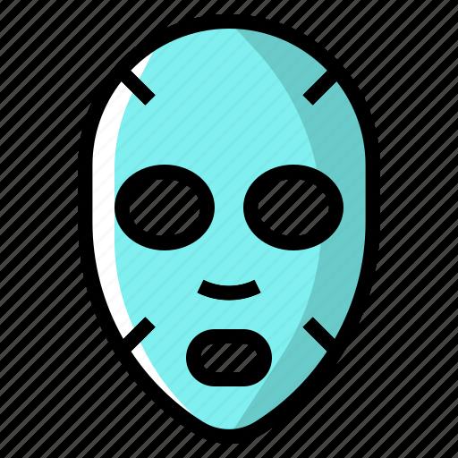 beauty, face, makeup, mask, treatment icon