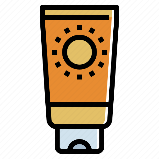 block, bottle, cream, lotion, protection, sun icon