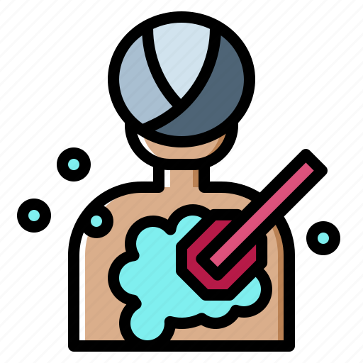 Bathing, body, clean, hygiene, washing icon - Download on Iconfinder