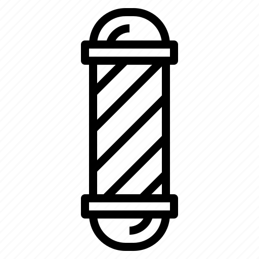 Barber, beauty, cosmetics, cut, hair, pole, salon icon - Download on Iconfinder