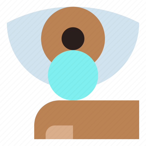 beauty, contact, eye, lens, ophthalmology, optical icon