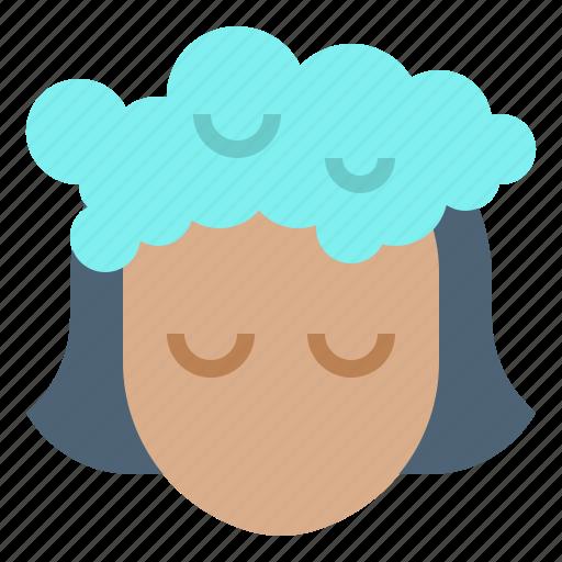 beauty, hair, salon, shower, washing icon