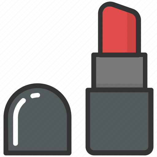 beauty, cosmetics, grooming, lipstick, makeup icon