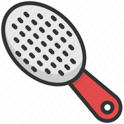 brush, hair brush, hair style, hairdressing, paddle brush icon