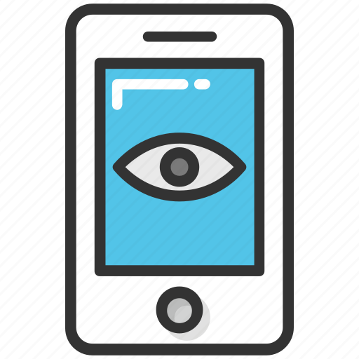 beauty app, eye beauty app, eye on mobile, makeup app, mobile app icon