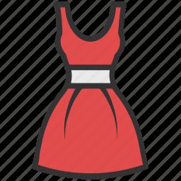 clothing, dress, frock, sundress, woman dress icon