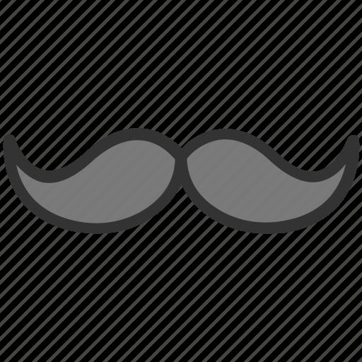barber shop, hipster, moustache, mustachio, thick moustache icon