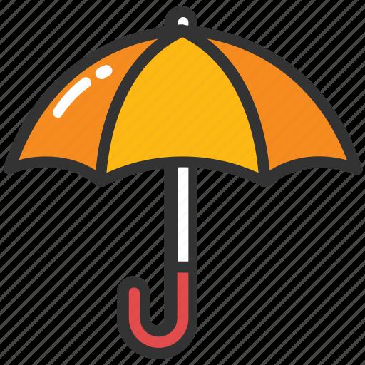 beach umbrella, canopy, insurance, parasol, protection, sunshade, umbrella icon