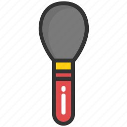 applicator, beauty, brush, cosmetics, makeup icon
