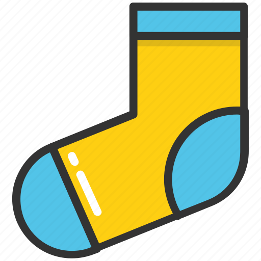accessory, clothing, footwear, socks, stocking icon