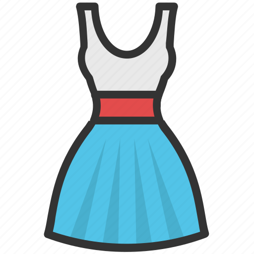 clothing, frock, party dress, prom dress, sundress icon