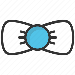 bow, bowtie, hair bow, ribbon, suit bow icon