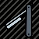salon, razor, knife, barbershop icon