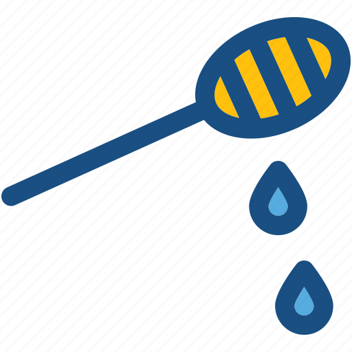 honey comb, honey dipper, honey dripping, honey drizzler, honey pouring icon