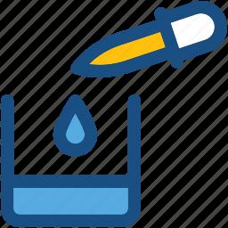 chemical dropper, dropper, pipet, pipette, pipettor icon