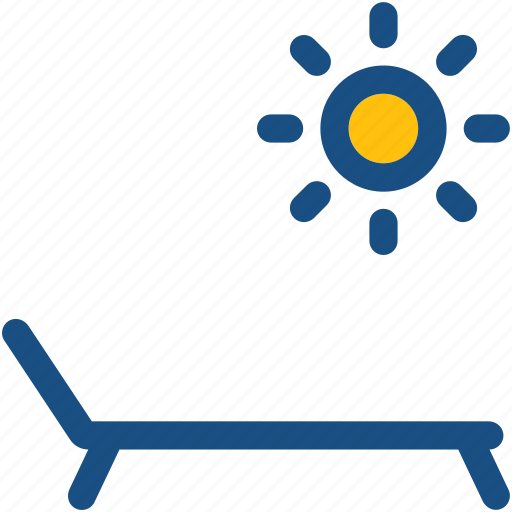 deck chair, pool side, sun tanning, sunbathe, tanning icon