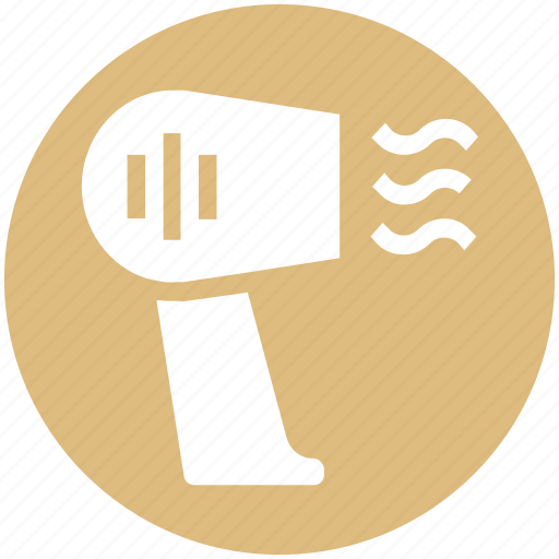 Blow, dryer, electric, hair, hair care, hairdryer, salon icon - Download on Iconfinder