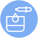 beauty, drop, glass, lab, spa, test tube, treatment icon