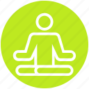 exercise, levitate, lotus, man, meditation, people, yoga