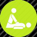 body massage, body treatment, massage, relaxation, spa icon