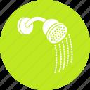 bath, bath sprinkler, shower, shower head, shower sprinkler icon