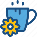 cup, drink, herbal tea, spa, tea icon