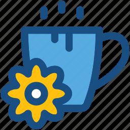 cup, drink, herbal tea, spa, tea icon