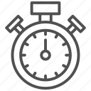 alarm, clock, stopwatch, time, timer icon