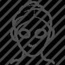 cucumber, face, facial, mask icon