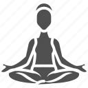 exercise, gym, sport, workout, yoga icon