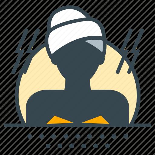 beauty, sauna, spa, treatment, wellness icon