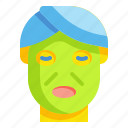 beauty, cosmetic, face, facial, mask icon
