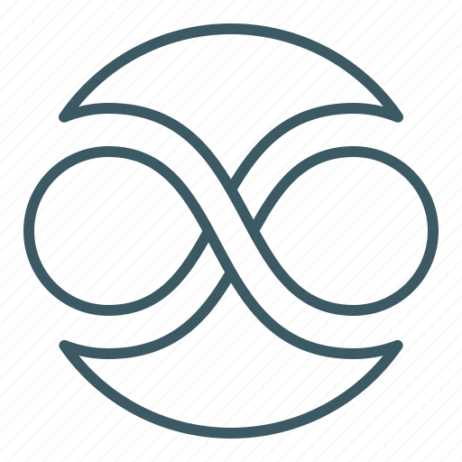 cycle, forever, infinity, loop, sign icon