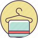 beauty, body, care, cosmetics, sauna, spa, towel icon