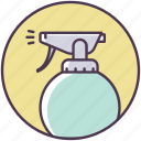 air, beauty, cosmetics, freshener, salon, spray icon