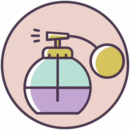 aroma, beauty, cosmetics, makeup, perfume, smell, toilet water icon