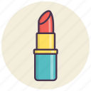 beauty, care, cosmetics, fashion, lipstick, makeup icon