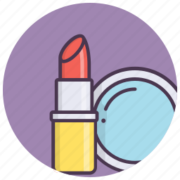 beauty, cosmetics, fashion, lipstick, makeup, mirror, tools icon