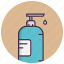 beauty, cosmetics, hand wash, handcare, liquid, soap icon