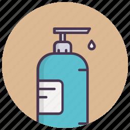 beauty, cosmetics, hand wash, handcare, liquid, soap icon