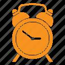 alarm clock, hour, time