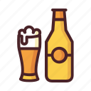 ale, beer, brew, hop, malt, oktoberfest, wheat icon
